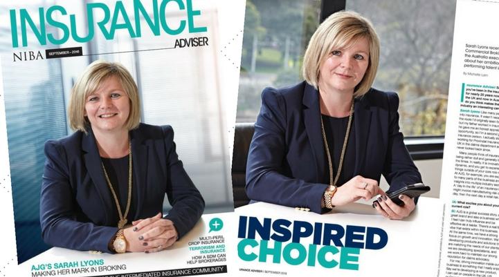 Sarah Lyons NIBA magazine